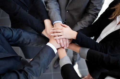 Teamwork und Vertrauen