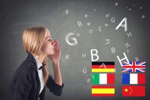 jede Sprache hat ihre eigenen Anforderungen